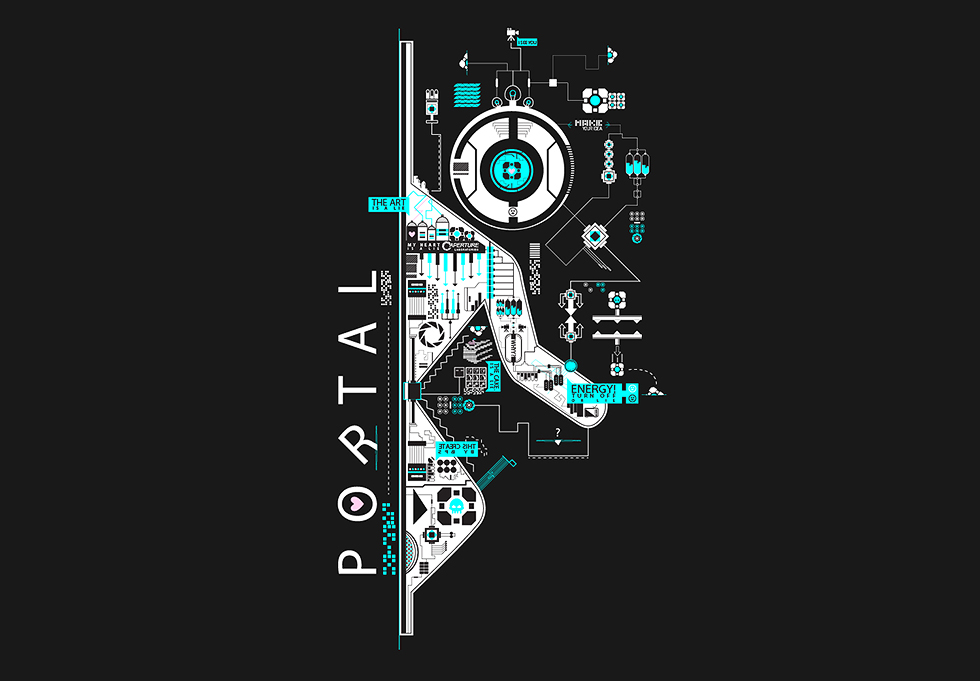 Portal 2 - Abstract Vector